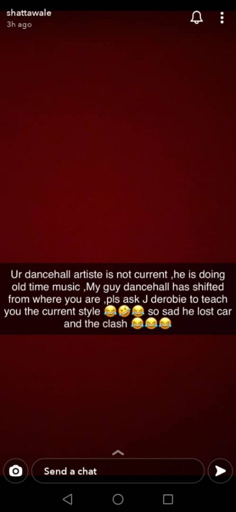 Shatta Wale disses Stonebwoy & accuses him of stealing Capleton's song