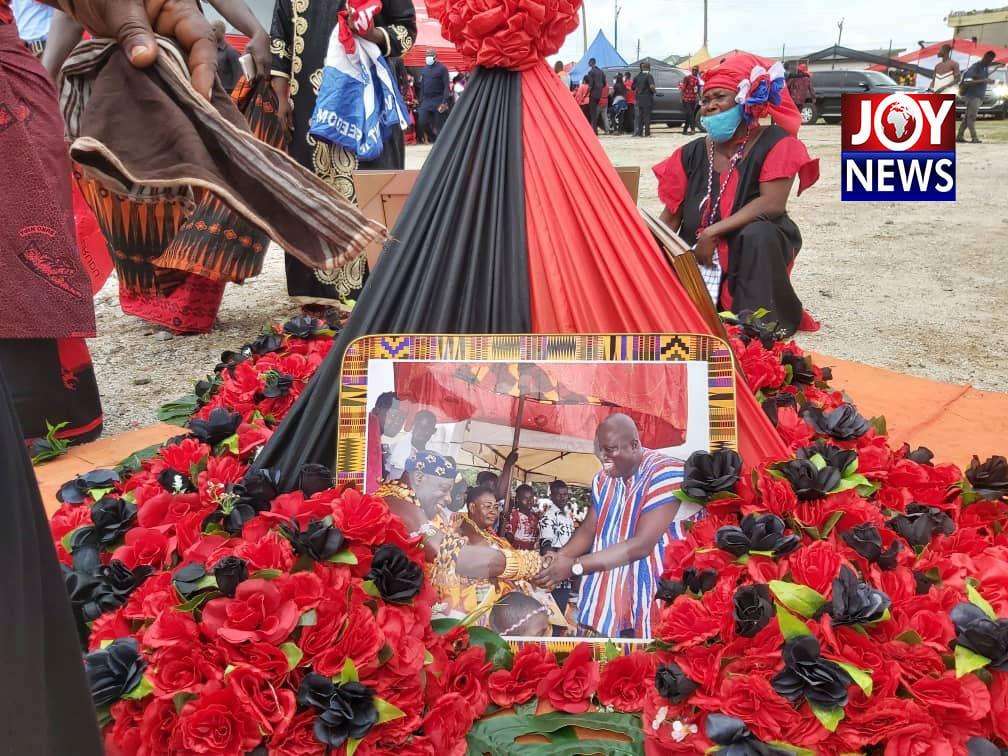 one-week observance of late Mfantseman MP