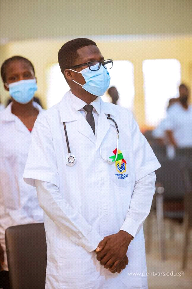 The touching story of a Street Yogurt seller now a student of Pentecost University pursuing a degree in nursing 2