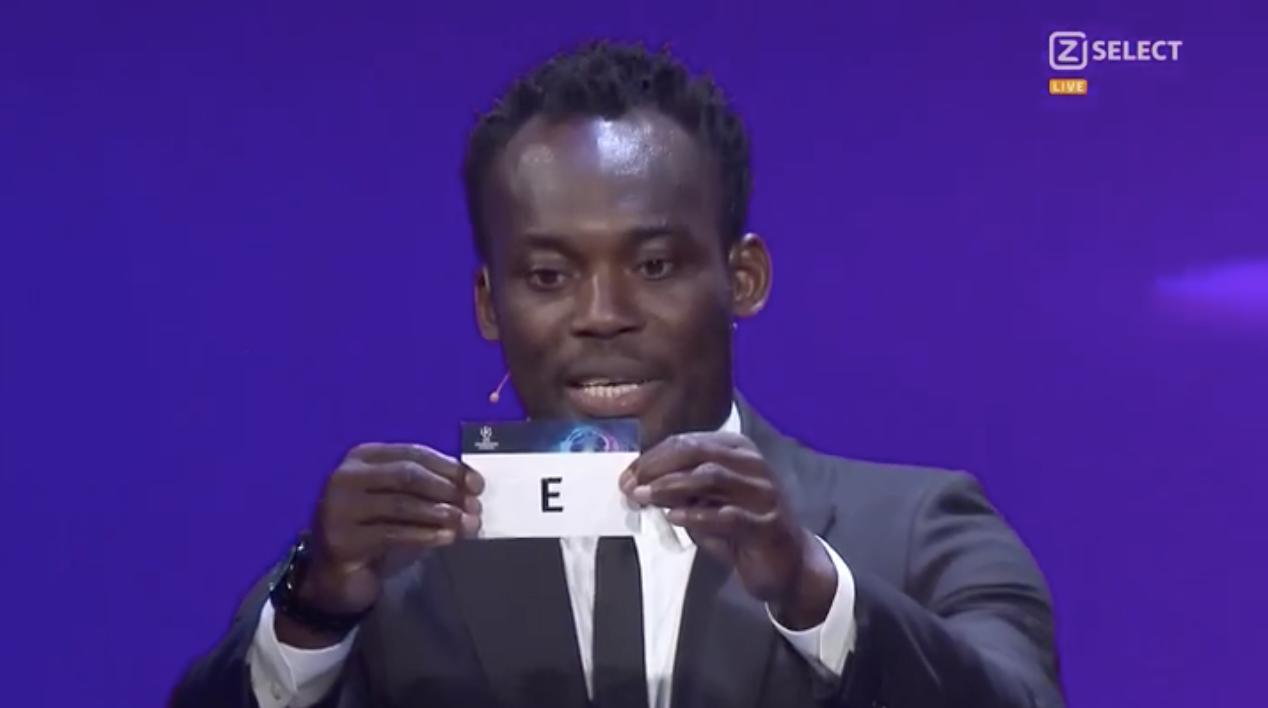 UEFA Champions League 2021-2022 Live Draw